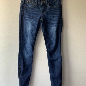 GAP Jeans - GAP 1969 Always Skinny Jeans with Ankle Zippers